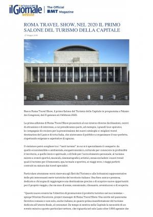 www.ilgiornaledelturismo.com 27/05/19